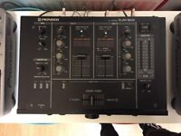 Pioneer Professional DJM-300 2 channel mixer / great working condition