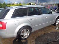 audi a4 2.5 tdi auto parts from a 2004 estate car silver