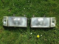 Vw T4 pair of headlights and clear indicators