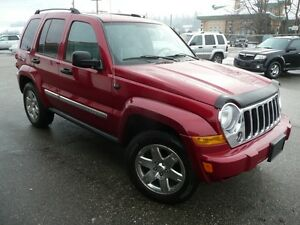 2006 Jeep Liberty AWD Limited  LOW KM