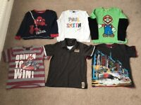 Bundle of boys clothes aged 8-10 years old