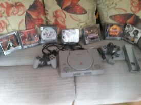 Original Playstation 1 with games