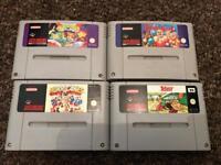 Super Nintendo snes game bundle