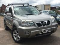 Nissan X Trail 2.0 SE+ 2002 + FULL SERVICE HISTORY + MOT TILL JULY 2017 + LOVELY DRIVE