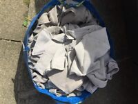 Window cleaning cloth/scrims for sale. Window cleaning round for sale