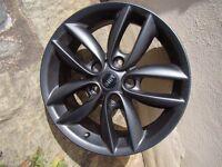 Mini alloy wheel 7J X 17 5-star Double Spoke Style 124