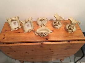 Beautiful Ceramic Frames and Ornaments