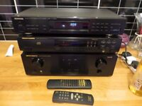 MARANTZ PM6010SE AMP - MARANTZ CD46 CD PLAYER - KENWOOD KT-2030L TUNER.