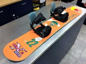 Snowboard Planche a neige Two-Two 120cm + Fixations  #F019611