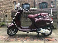 VESPA LXV 125 VIA DELLA MODA LTD ADDITION £1500