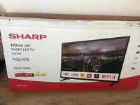 """40"""" smart sharps tv"""