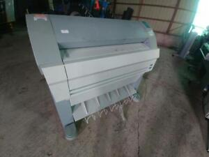 OCE TDS400 WIDE FORMAT PRINTER SCAN TO FILE COPY MACHINE