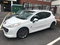 clean, economical, cheap to run Peugeot 207 in a nice white colour for quick sale!