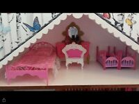 Hand Made Barbie doll house