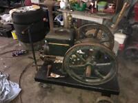 Fairbanks morse stationary engine vintage