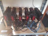 Mining Rig 6GPU Rx580 Red Devil 185MH