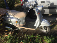 2017 RETRO SCOOTER FOR SALE