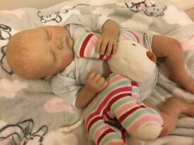 Reborn baby. Brand new. Can be boy or girl!