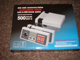 mini games console classic