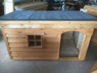 *New Large Dog Kennel with Porch & Window*(Box,Run,House,Bed,Heavy Duty Timber)