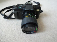 Pentax P30 35mm Film Camera - with Centon 28-70mm lens.