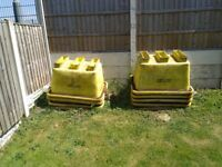 Cement tubs 9 of
