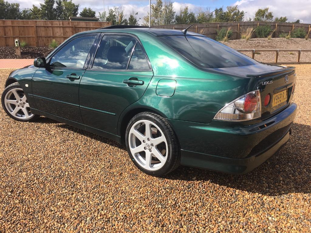 Lexus Is200 Sport Tte Manual 2001 Rare Green W Full Tte