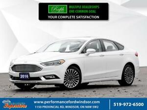 2017 Ford Fusion SE ***Sunroof, AWD, leather, NAV***