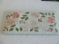 PAST TIMES Real leather Embroidered Spectacle/Glasses Case