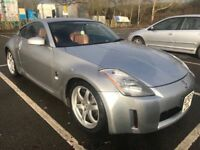 NISSAN 350z CONCEPT COUPE ORANGE CALIFORNIA LEATHER SEATS,FULLY LOADED ,SPORTS AUTO,LONG MOT£4500