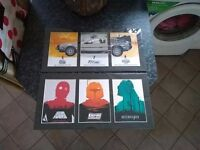Star Wars and Back to the Future prints