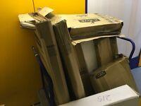 Cardboard moving / storage boxes
