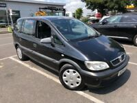 2004 VAUXHALL ZAFIRA 1.6L PETROL 7 SEATER EXCELLENT CONDITION LONG MOT FULL SERVICE HISTORY