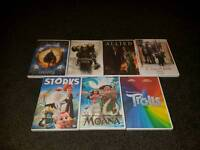 Dvds... £5 each or any 3 for £10