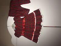 *Pending collection* Tartan dress & matching bloomers