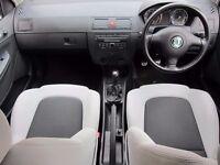 FABIA VRS BLACK & WHITE INTERIOR SEATS FABIA VRS PARTS*