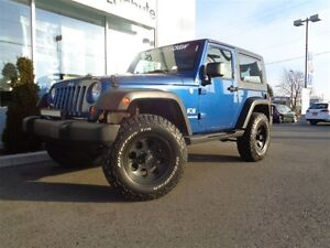 2009 Jeep Wrangler X ++LIFT KIT 2.5'' ROUGH COUNTRY++CYLINDRE DE