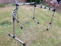 3-sided Drum Rack - top condition!