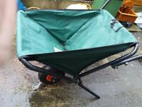 Canvas Wheelbarrow