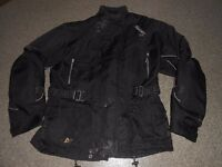mens size L motorbike jacket/trousers [AKITO]