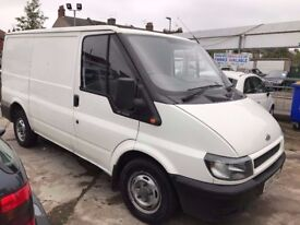 2005 FORD TRANSIT 300 SWB VAN 2.0 TURBO DIESEL 72150 GENUINE MILES MOT APRIL 2018 SECURITY LOCKS