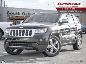 2011 Jeep Grand Cherokee Overland | 4X4 | HEATED LEATHER | NAVIG