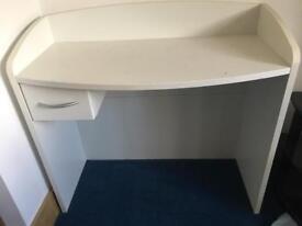 White Ikea dressing table/desk