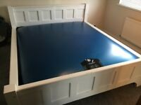 Super King Size Waterbed with Solid Pine Frame and Heater For Sale