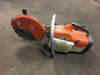 Stihl TS400 12 inch petrol cutter & diamond blade with brand new engine cut off saw