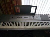Yamaha DGX-220 Keyboard With Stand
