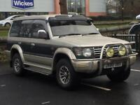 MISTUBUSHI PAJERO 2.5 DIESEL*£1199*7 SEATER*AUTOMATIC*LEATHER INTERIOR*LOW MILES*PX WELCOME*DELIVERY