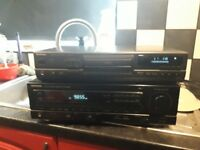 KENWOOD AMP RECEIVER AM/FM STEREO KR-A5020 AND TECHNICS CD PLAYER