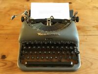 1960's Remington Rand portable typewriter