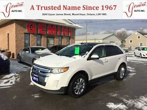 2013 Ford Edge SEL AWD Leather Roof Navi Camera